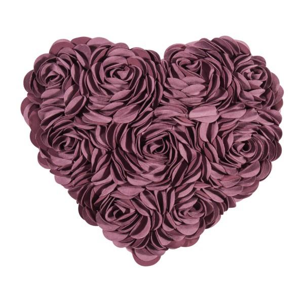 "Kissenbezug ""HEART"" - 30x40cm (Lila) von pad"