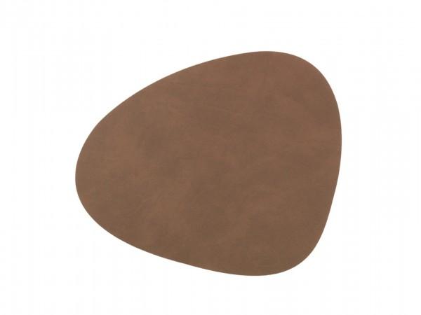 "LindDNA Tischset ""Curve"" Nupo S (Braun)"