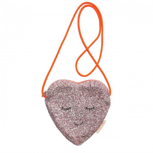 """Tasche """"Glitter Heart"""" von Meri Meri"""
