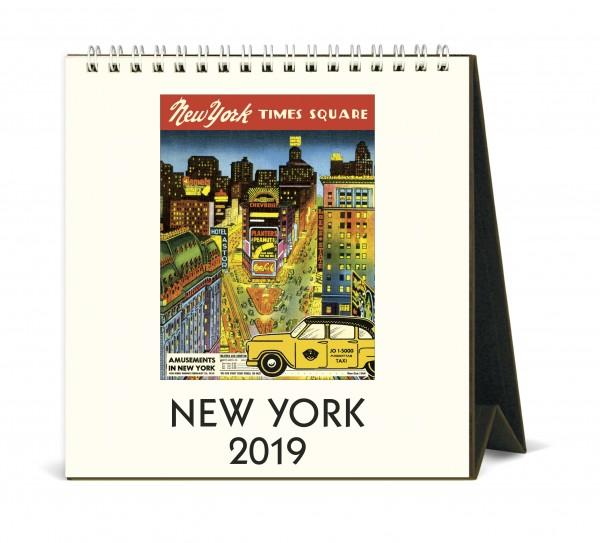 """Cavallini Tischkalender 2019 """"New York"""""""