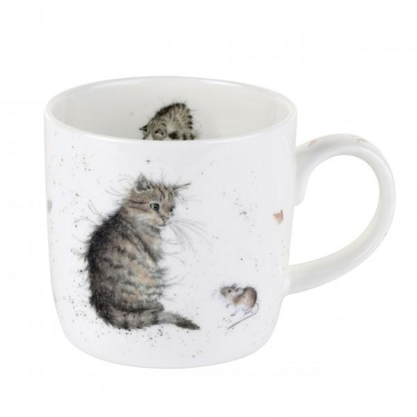 """Tasse """"Katze und Maus"""" von Wrendale"""