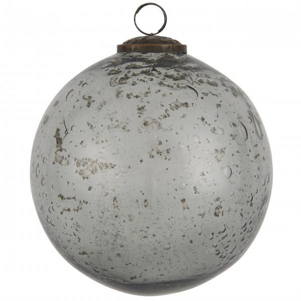 """Ib Laursen Weihnachtskugel """"Stillenat®"""" - Ø: 13,4 cm """"Smoke"""""""