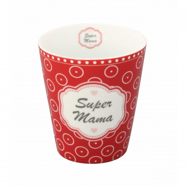 "Krasilnikoff - Happy Mug ""Super Mama"""