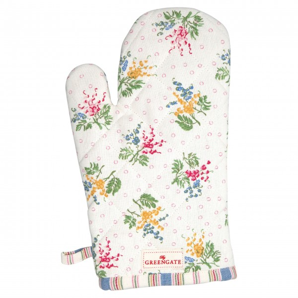 """GreenGate Grillhandschuh """"Mira"""" (White)"""