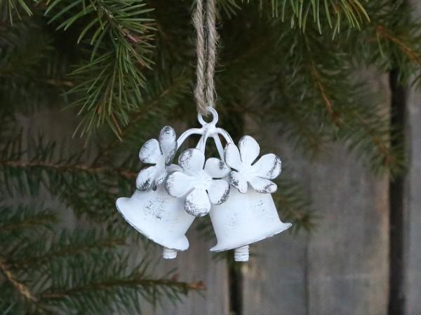 """Weihnachtsglocken """"X19"""" (Weiß) von Chic Antique"""