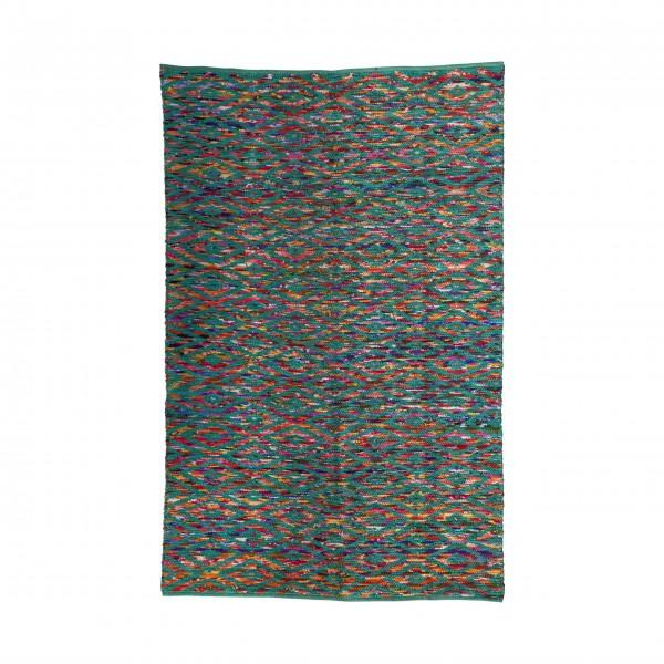 "rice Teppich ""Multicolored"" (Türkis)"