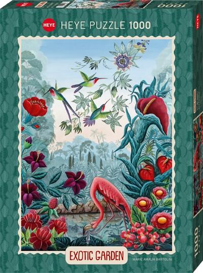 Puzzle Bird Paradise EXOTIC GARDEN Standard 1000 Pieces