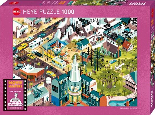 Puzzle Tarantino Films MOVIE MASTERS, ALEXANDRE CLÉRISSE Standard 1000 Pieces