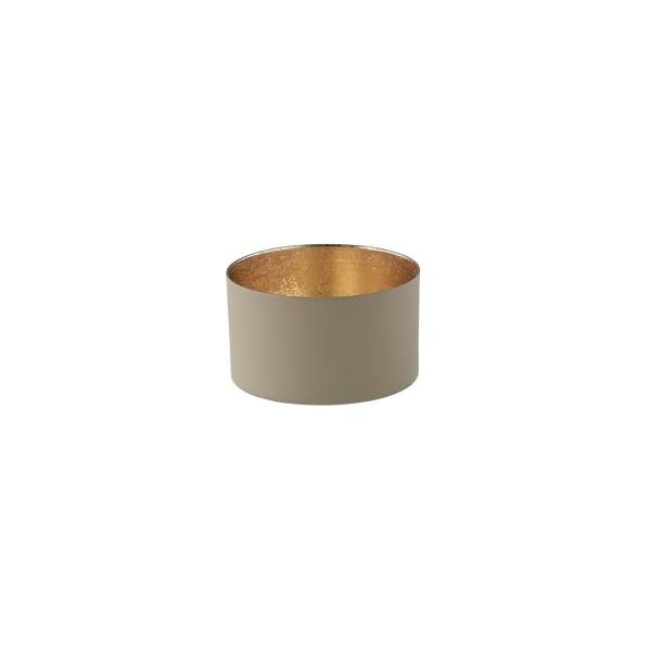 """Windlicht """"Chennai"""" - S (Beige/Gold) von Gift Company"""