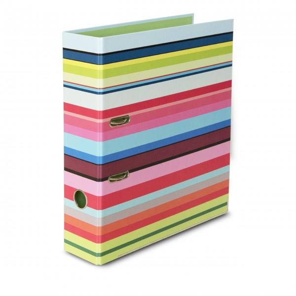 """Ordner """"Stripes"""" für DIN A4 von Remember"""