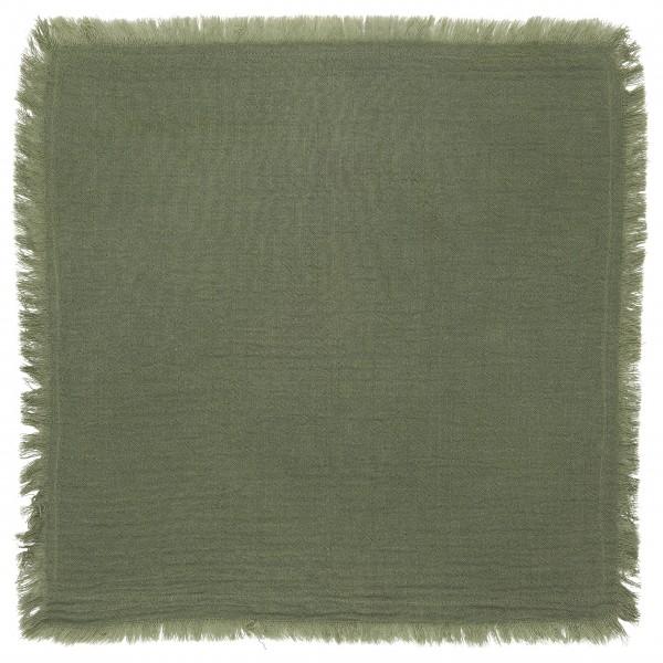 Ib Laursen Stoffserviette doppelt gewebt (Grün)