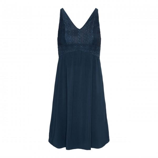 "Essenza Nachthemd ""Sarah Uni"" - S (Blau)"