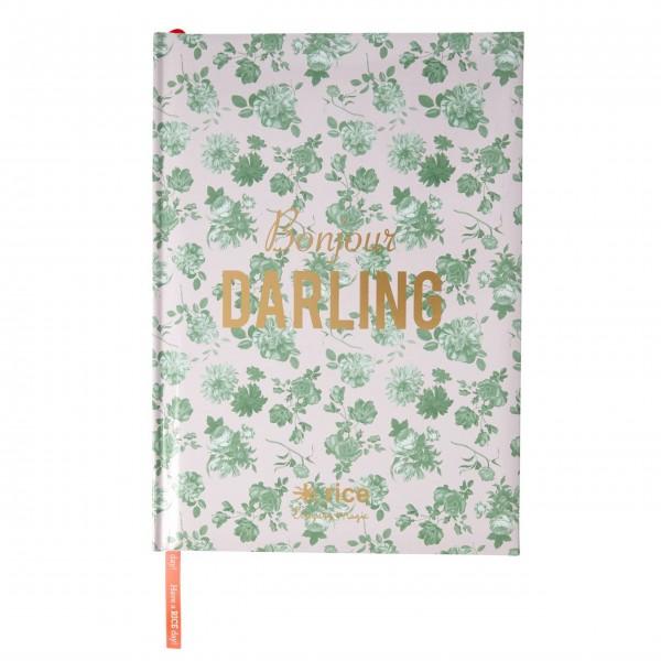 "rice Notizbuch A4 ""Bonjour Darling"" - liniert"