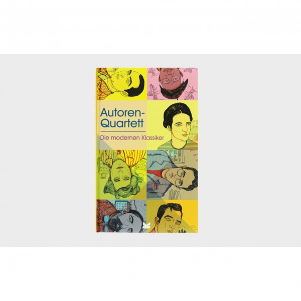 """Kartenspiel """"Autoren-Quartett"""" von Laurence King"""