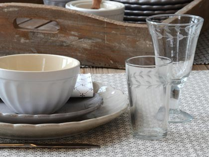 Geschirr & Glas