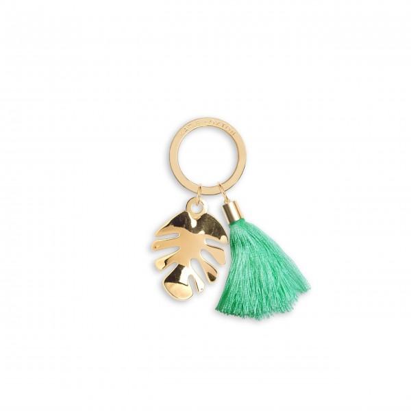 """Schlüsselanhänger """"Palmblatt"""" (Grün) von KATIE LOXTON"""