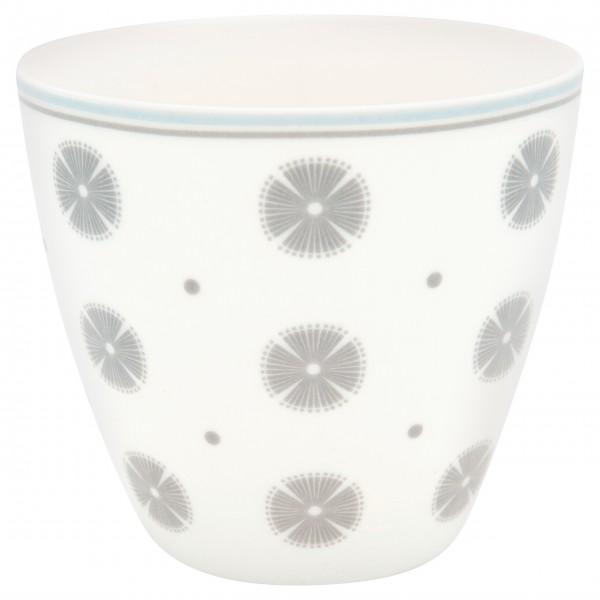 "GreenGate Latte Cup ""Saga"" (White)"