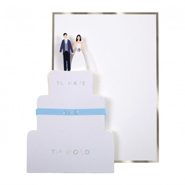 Glückwunschkarte zur Hochzeit von Meri Meri