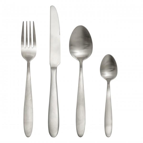"""Bloomingville Besteck """"Cutlery"""" (Silber) im 4er-Set"""