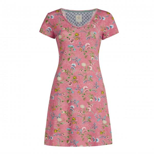 "Pip Studio Nachthemd ""Djoy La Majorelle"" (Pink)-260821-326-011-1"