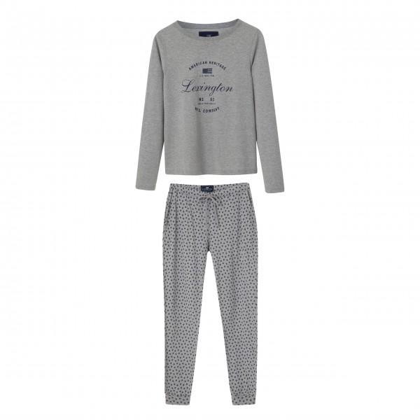 "Lexington Pyjama ""Vicki"" - M (grau)"