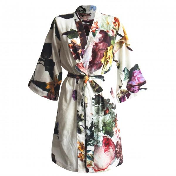 """Essenza Kimono """"Fleur"""" - S (Ecru)"""
