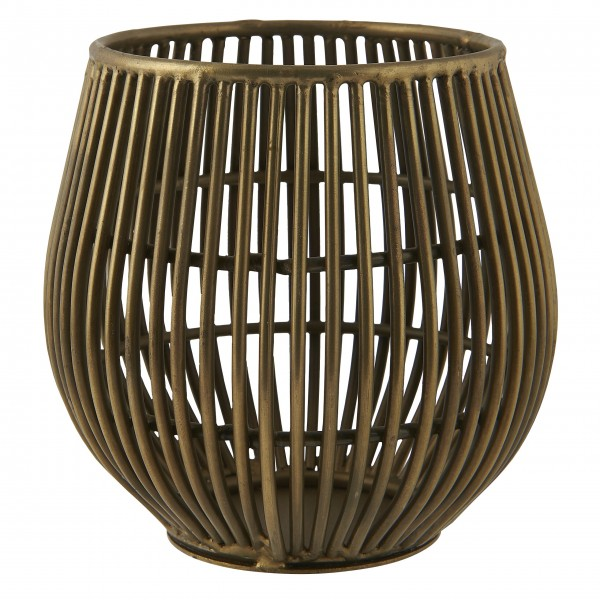 """Ib Laursen Teelichthalter """"Stillenat®"""" (Bronze)"""