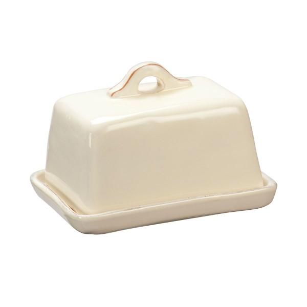 Rustikale Keramik - Butterdose von CASAgent
