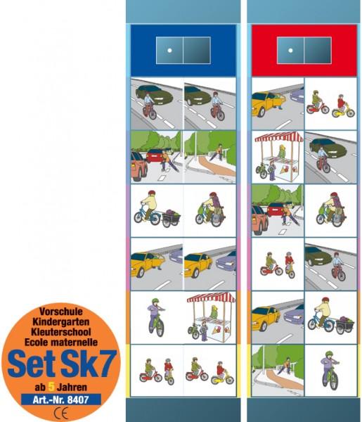 """Lernspiel """"Set SK 7 Verkehrserziehung"""" von Oberschwäbische Magnetspiele"""