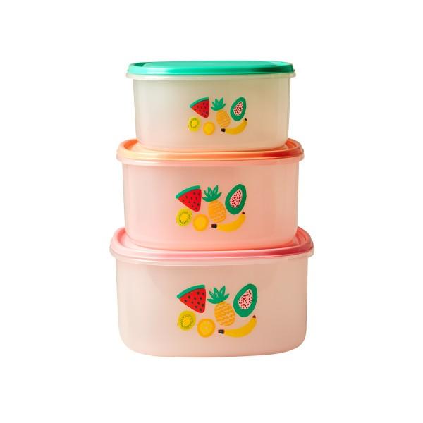 Rice Lunchboxen für Zuhause und unterwegs mit coolem Tutti-Frutti-Design
