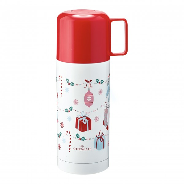 "GreenGate Thermosflasche ""Jingle Bell"" (White)"