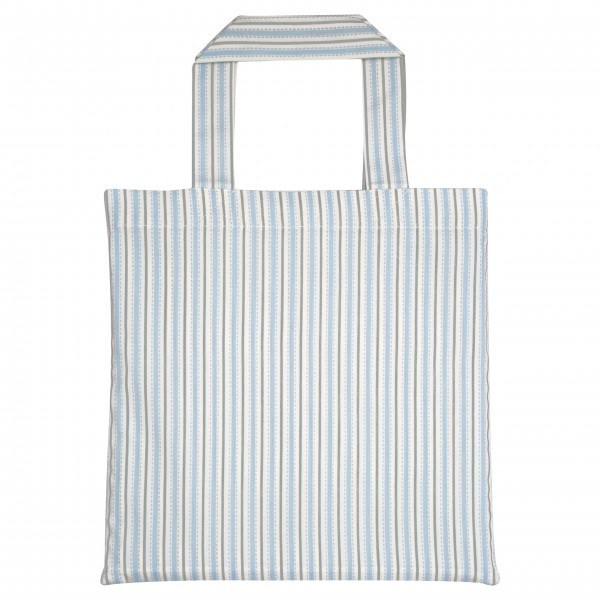 "GreenGate Kinder-Bettbezug ""Sari"" (Pale blue) - 100x140cm - in Stofftasche"