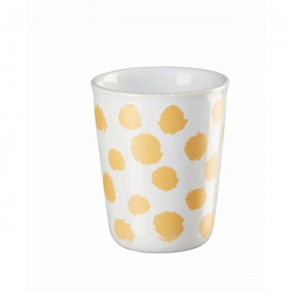 ASA Espresso Becher - 100 ml (Gelb/Weiß)