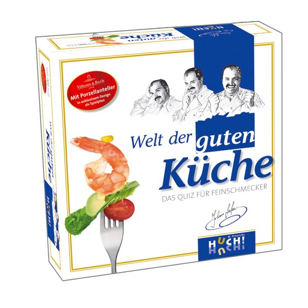 Witziges Spiel rund um Meisterköche und Küchen - von Huch!