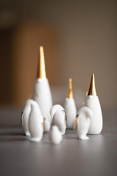 """Porzellangeschichten """"LIVING Pinguine"""" - 3Stk. von räder Design"""