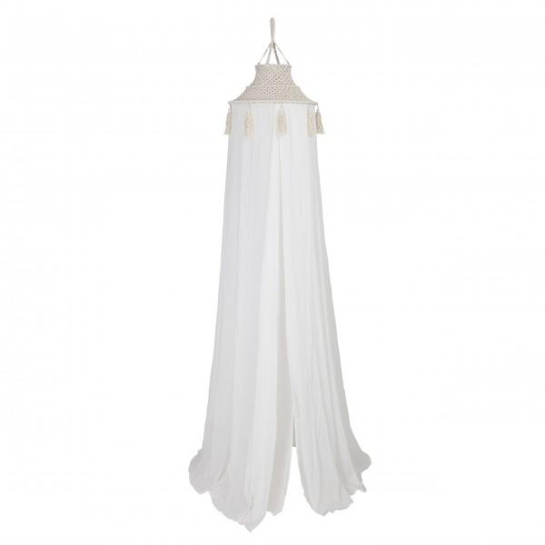 Bloomingville Betthimmel aus Baumwolle (Weiß)