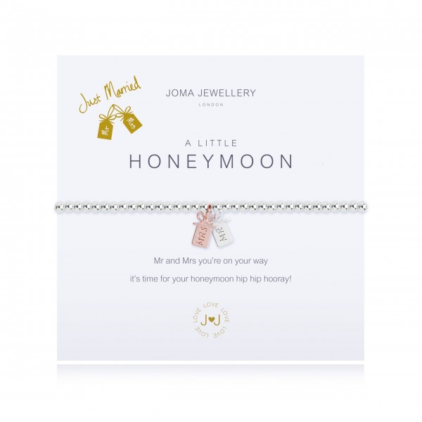 "Armband ""a little - Honeymoon"" von Joma Jewellery"