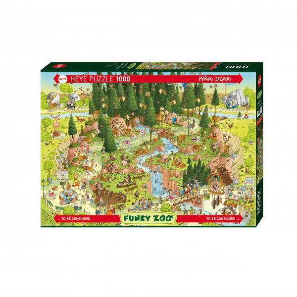"""Puzzle """"Black Forest Habitat"""" von HEYE"""