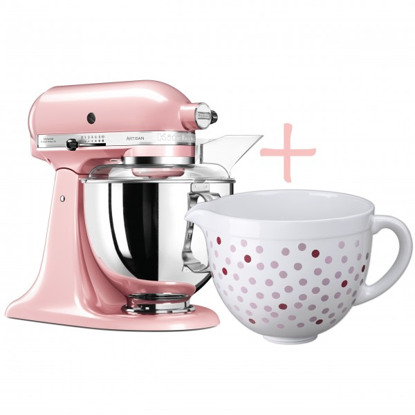 kitchenaid artisan k chenmaschine seidenpink. Black Bedroom Furniture Sets. Home Design Ideas