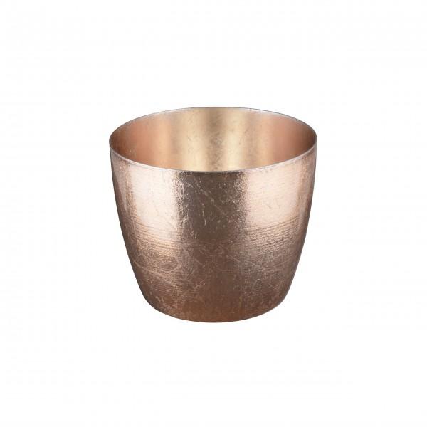 """Windlicht """"Madras"""" M (Nude gold) von Gift Company"""