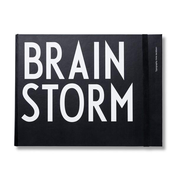 """DESIGN LETTERS Notizbuch """"Brainstorm"""""""