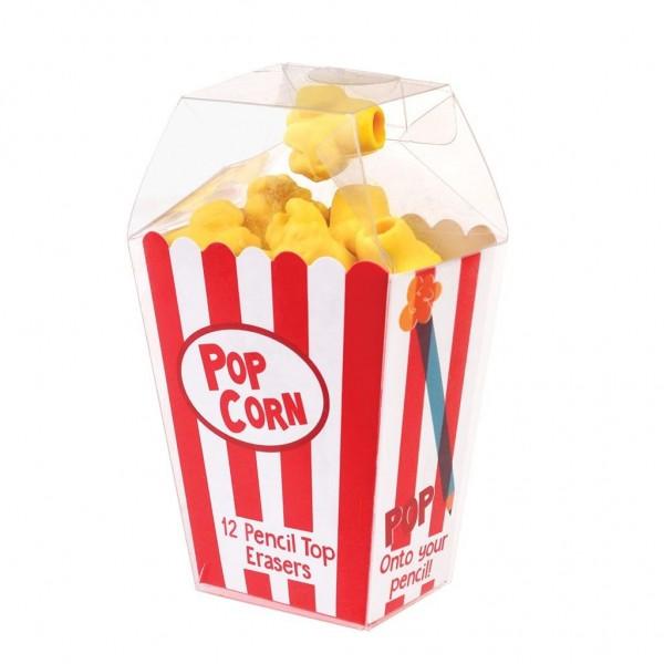 Popcorn Radiergummis für Bleistifte von Rex LONDON