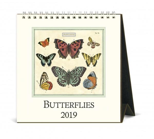 "Cavallini Tischkalender 2019 ""Butterflies"""