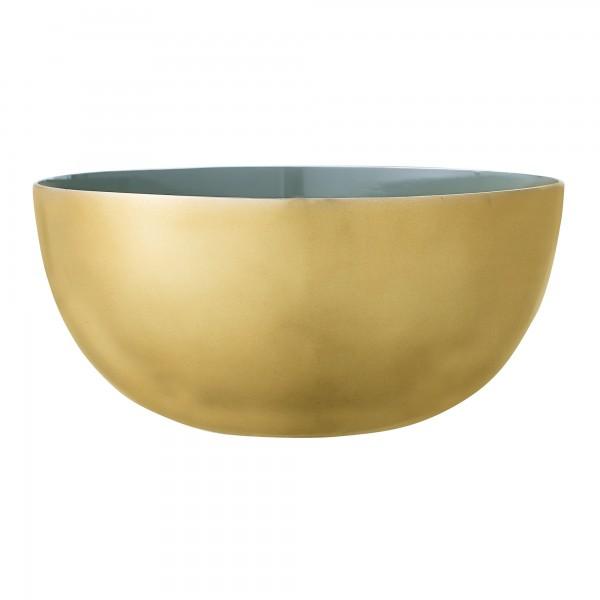 "Bloomingville Dekoschale ""Aluminium"" (Gold/Grün)"