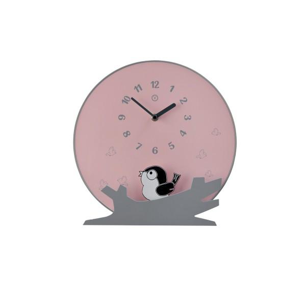 """Pendeluhr """"SEATTLE"""" (Pink) - Durchmesser 30cm von SOMPEX"""