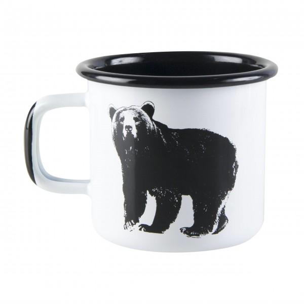 """Muurla Emaille Becher """"Nordic-Bear"""""""