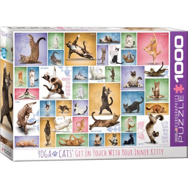 Puzzles Yoga Cats von Eurographics