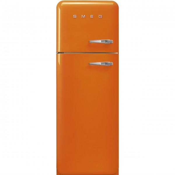 "smeg Kühl-/Gefrierkombi ""50's Retro Style"" FAB30 (Orange) Tür links"