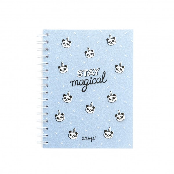 "Kleines Notizbuch ""Stay magical"" von mr. wonderful*"