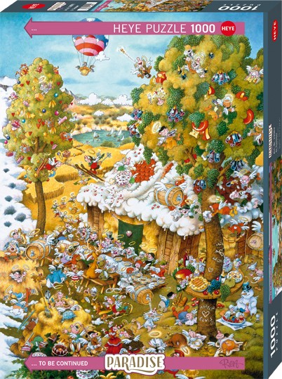 Puzzle In Summer PARADISE Standard 1000 Pieces